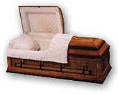 Wood Veneer and Cremation Casket