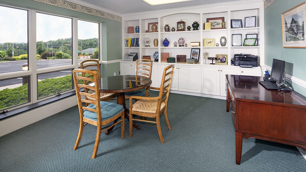 Advanced Planning and Memorial Service Planning office at Chandler Funeral Homes Hockessin, Delaware location